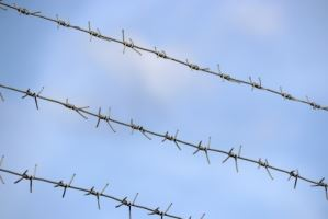 Barbed Wire Fence - Negligent Security